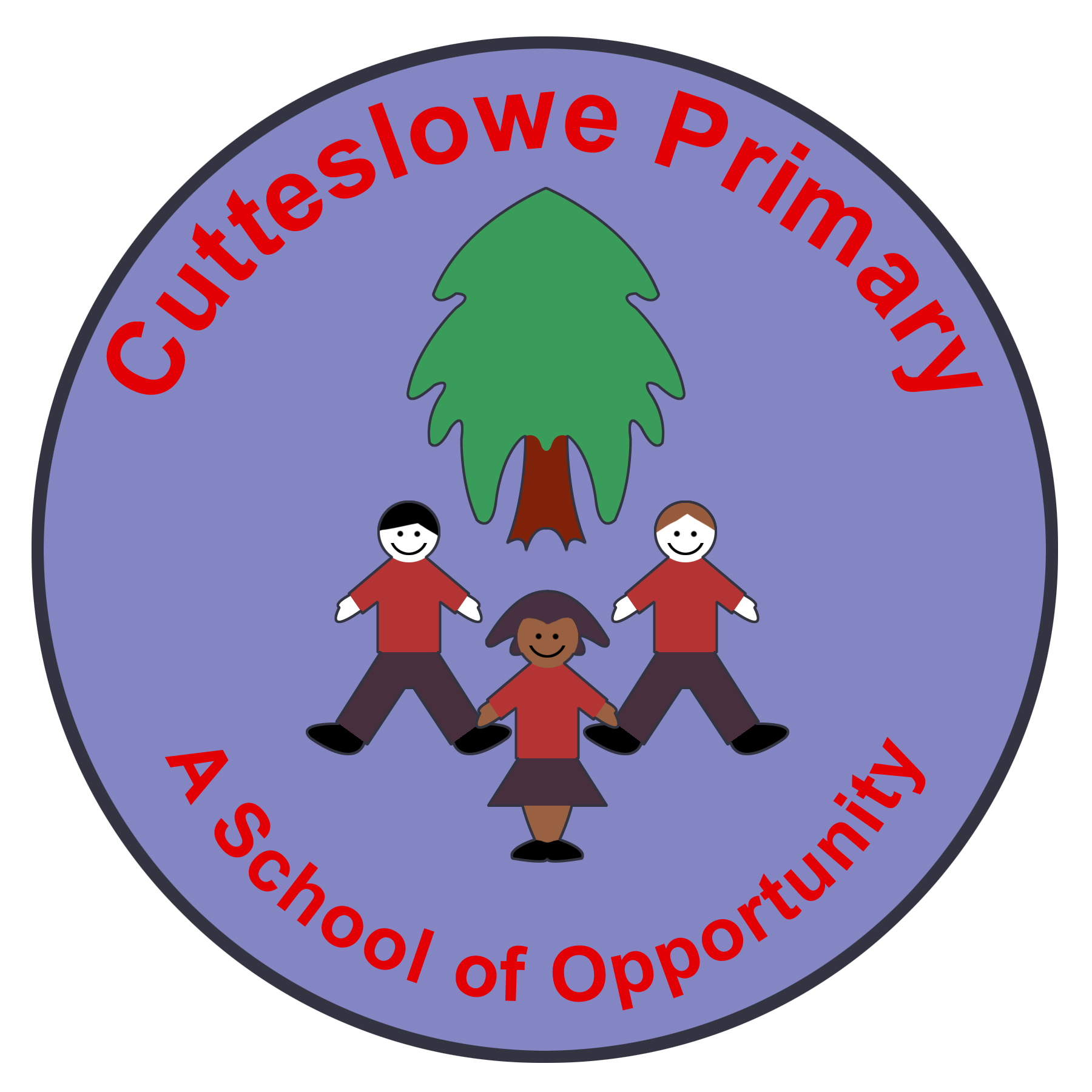 cutteslowe school logo