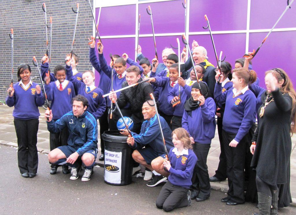 Schools anti-litter campaign