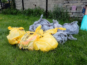 Marston Wombles' collected rubbish