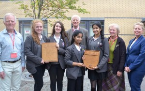Cheney School, school shield winners 2014