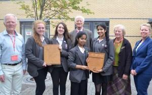 Cheney School, school shield winners 2014