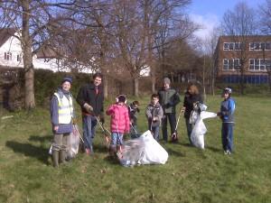 Feilden Grove volunteers, 2011