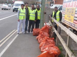 Spring Clean volunteers, 2014